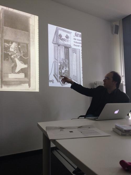 Michael Cowan explains early-20th-century projection technology